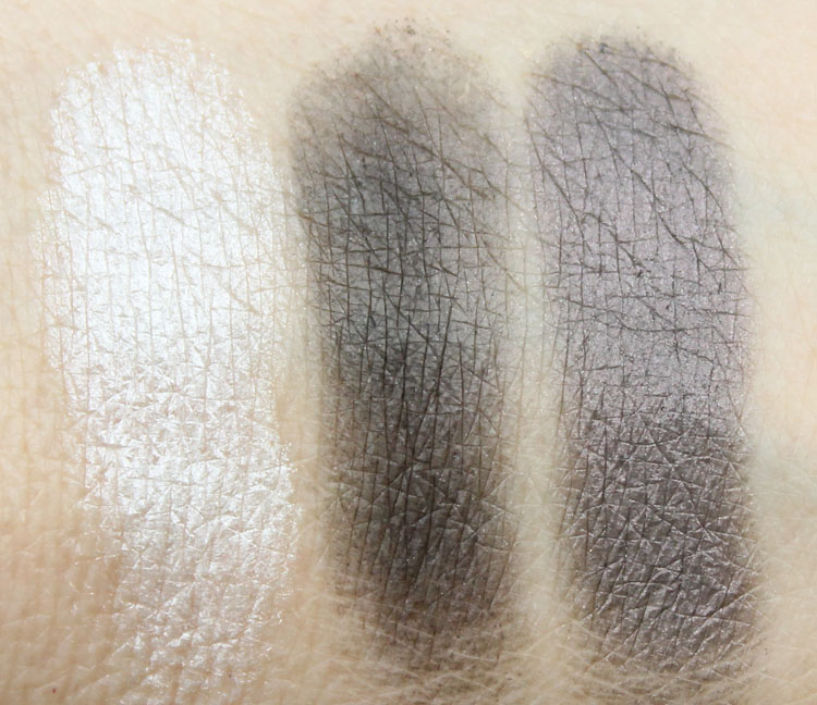 MAC Studio Sculpt Shade and Line Ebonyblend Swatches