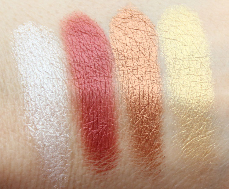 Marc Jacobs The Siren Palette Swatches