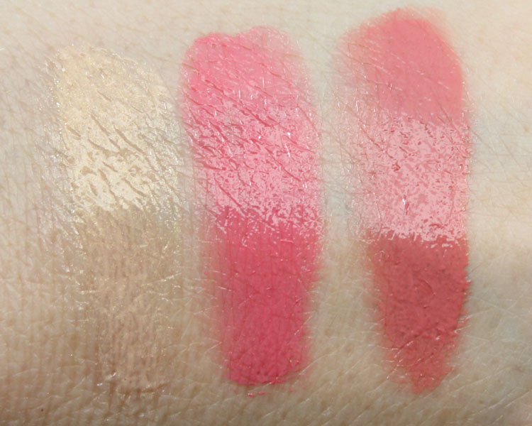 Obsessive Compulsive Cosmetics Dune Generation Stained Gloss Swatches
