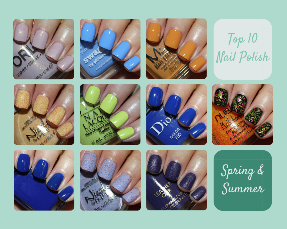 Top 10 Nail Polish Spring Summer 2017