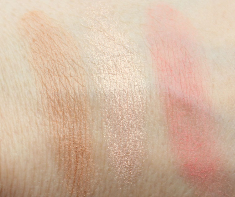 Urban Decay Naked Flushed Streak Swatches