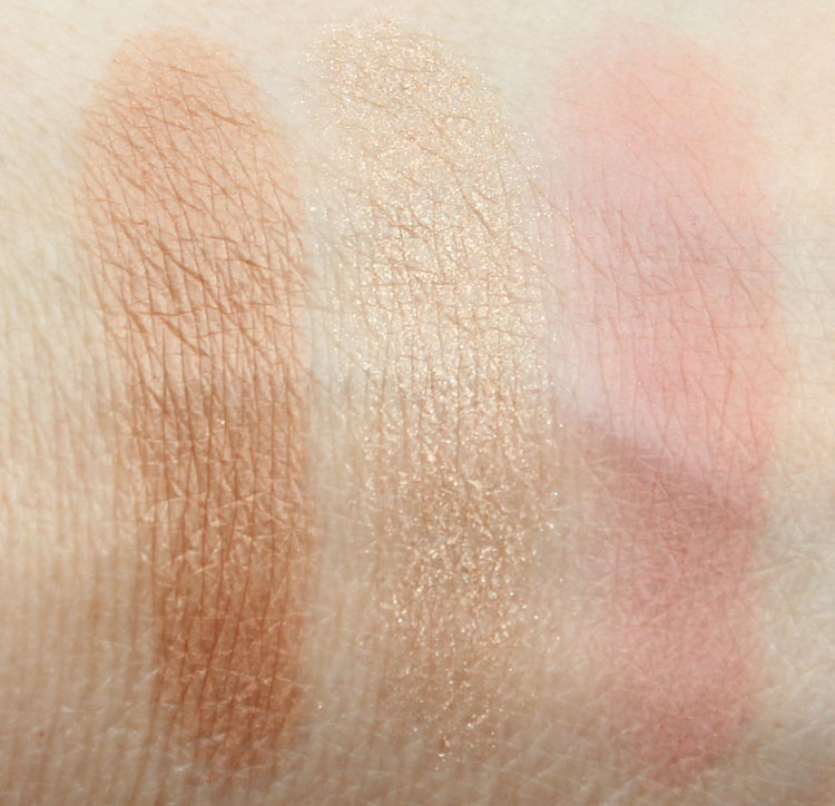 Urban Decay Naked Flushed Strip Swatches