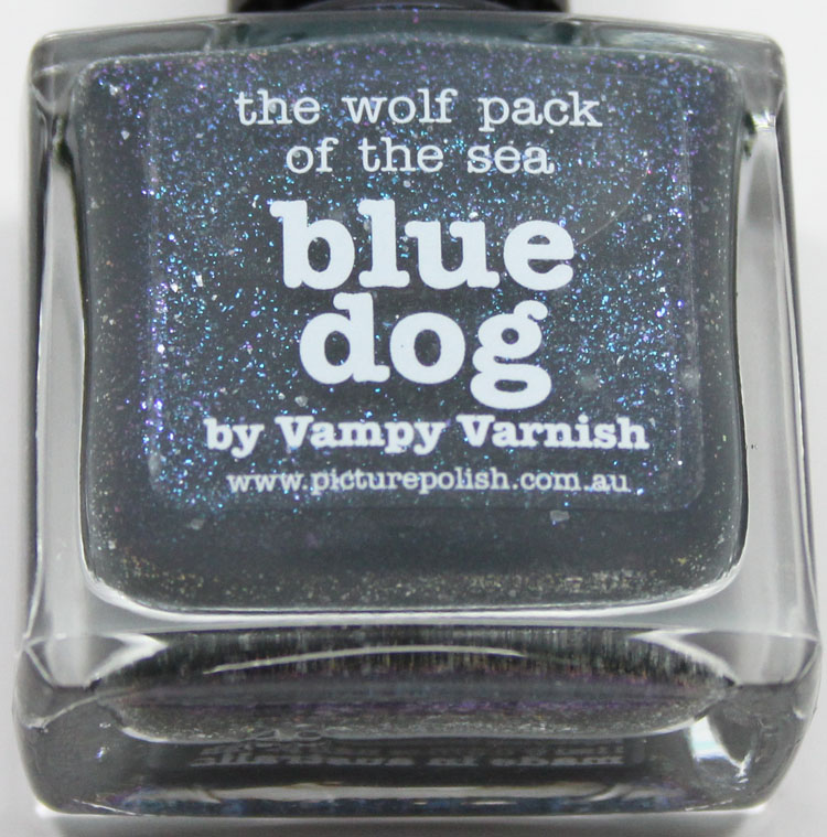 piCture pOlish Blue Dog by Vampy Varnish-3