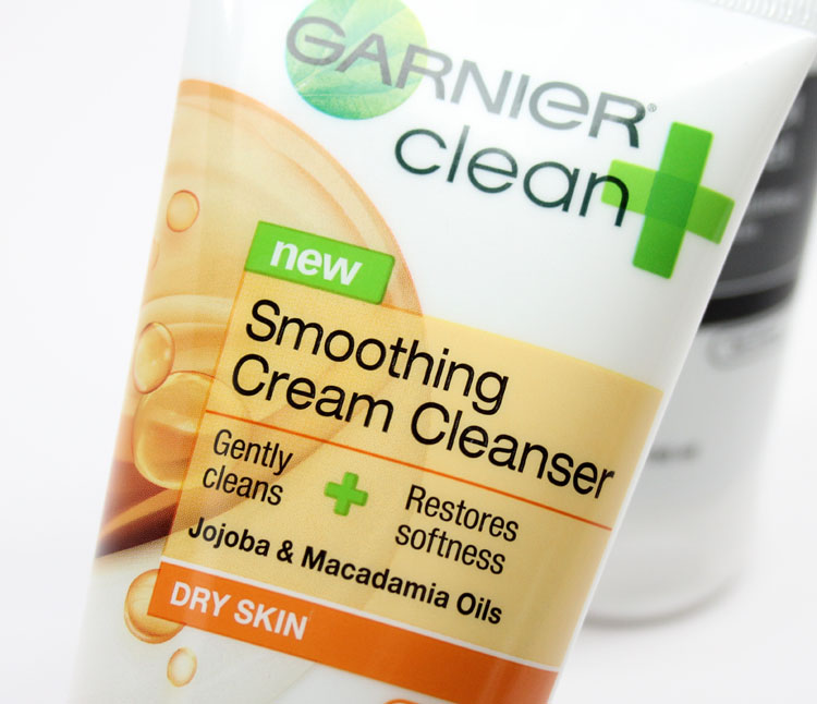 Garnier Smoothing Cream Cleanser