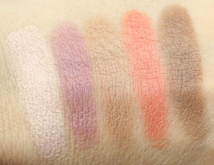 LORAC AfterGLO Eye Shadow Palette Swatches-2