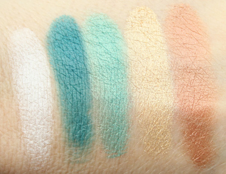 LORAC AfterGLO Eye Shadow Palette Swatches