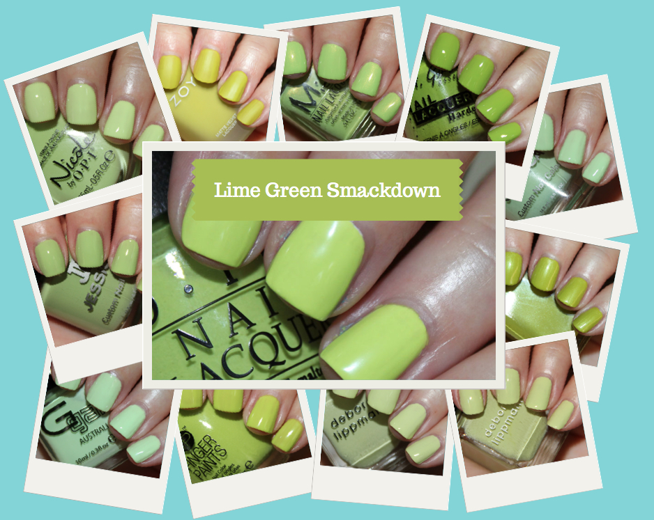Lime Green Smackdown