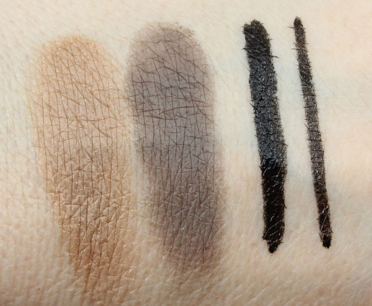 MAC Kelly Osbourne Morning Mister Magpie, Rapidblack Swatches