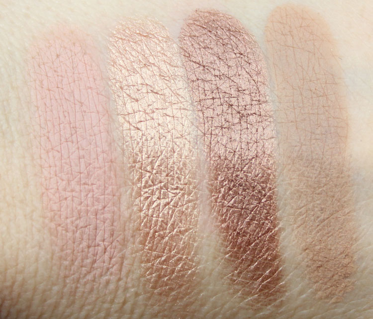 MAC Pedro Lourenco Nude Quad Swatches
