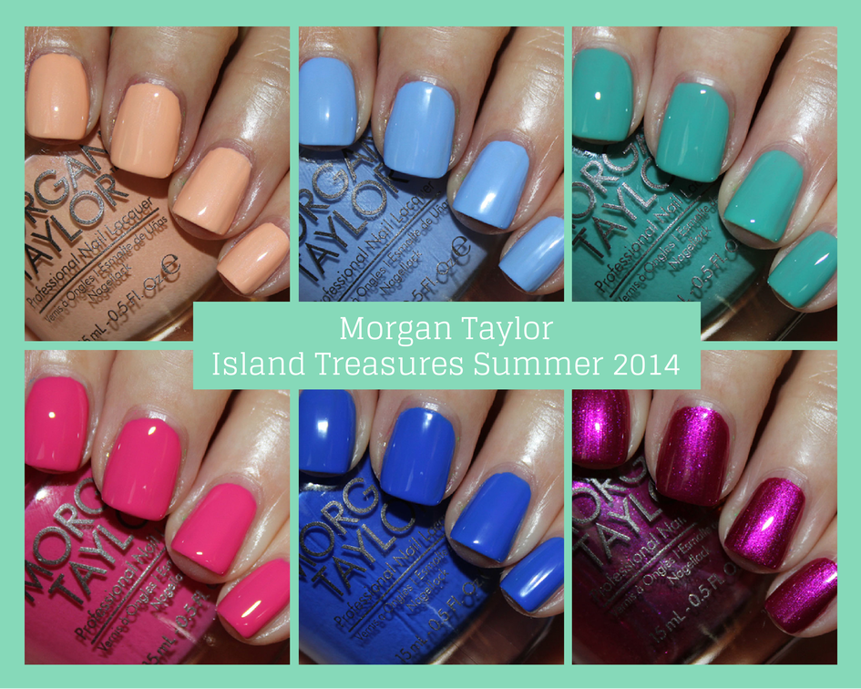 Morgan Taylor Island Treasure Summer 2014