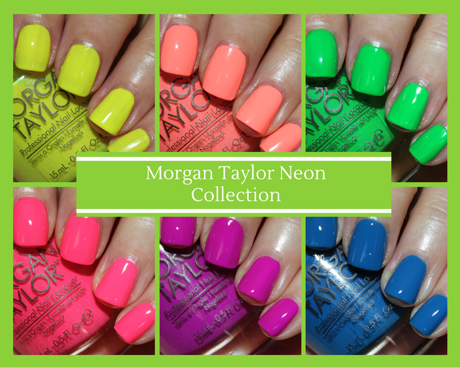 Morgan Taylor Neon Color Collection