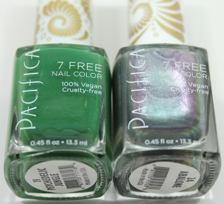 Pacifica 7 Free Nail Color Psychedelic Jungle, Abalone