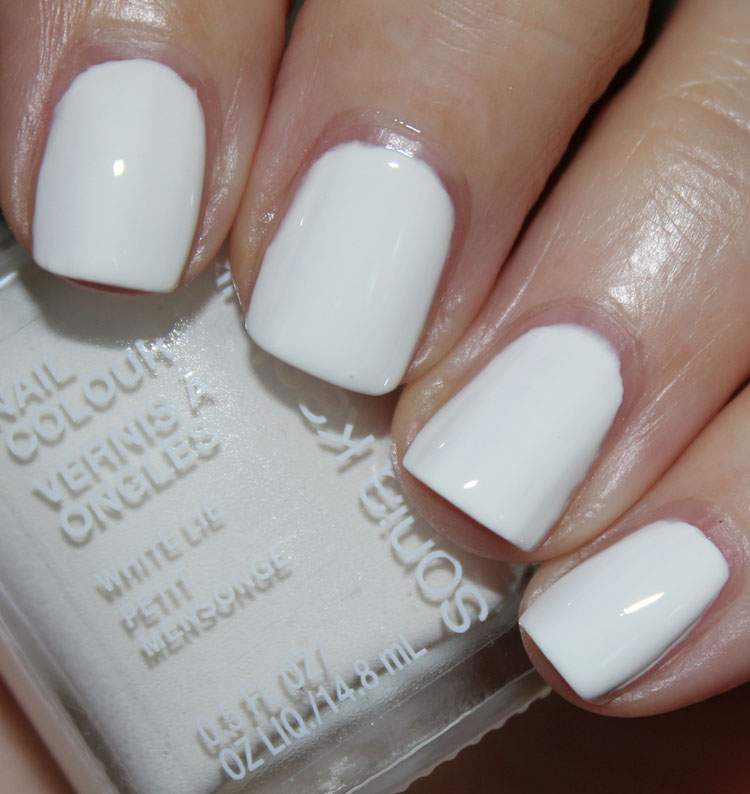 Sonia Kashuk Nail Colour White Lie