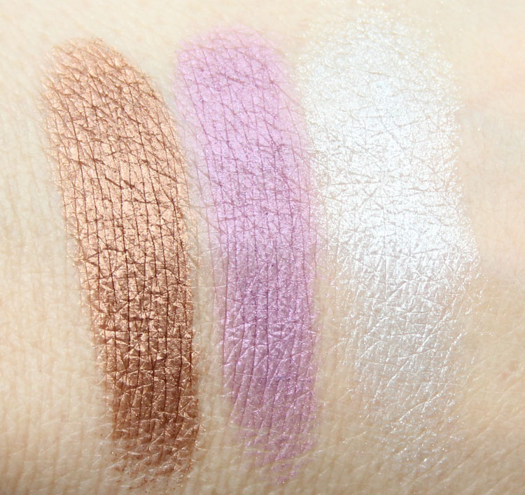 Too Faced Cat Eyes Ferociously Feminine Eye Shadow and Liner Collection Swatches-2