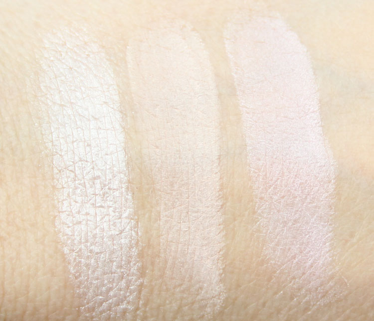 Too Faced Cat Eyes Ferociously Feminine Eye Shadow and Liner Collection Swatches