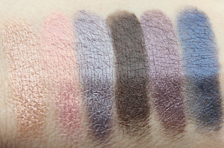 Too Faced Country Nashville Nudes Eye Shadow Collection Swatches-2