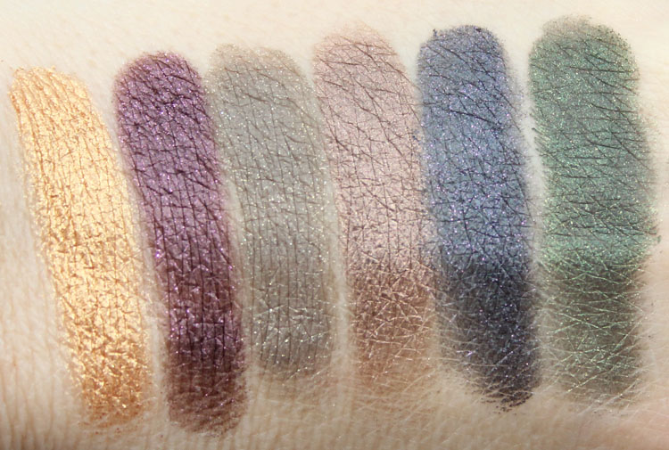 Too Faced Rock n Roll Rock Candy Eye Shadow Collection Swatches-2