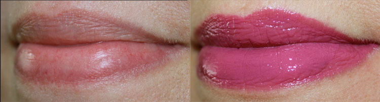 TopShop Lip Cream Double Take Lip Swatch