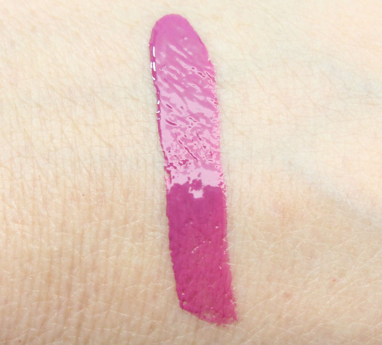 TopShop Lip Cream Double Take Swatch