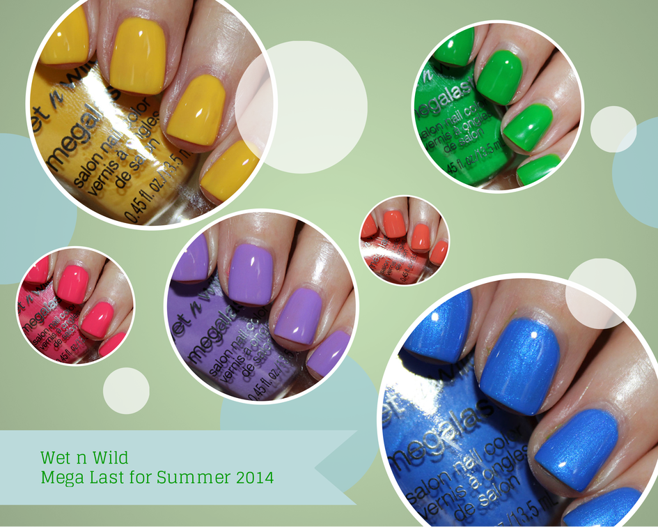 Wet n Wild Mega Last Salon Nail Color for Summer 2014