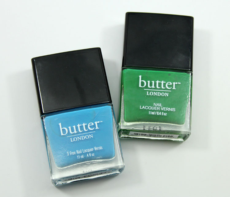 butter LONDON Nail Lacquer in Keks and Sozzled | Vampy Varnish