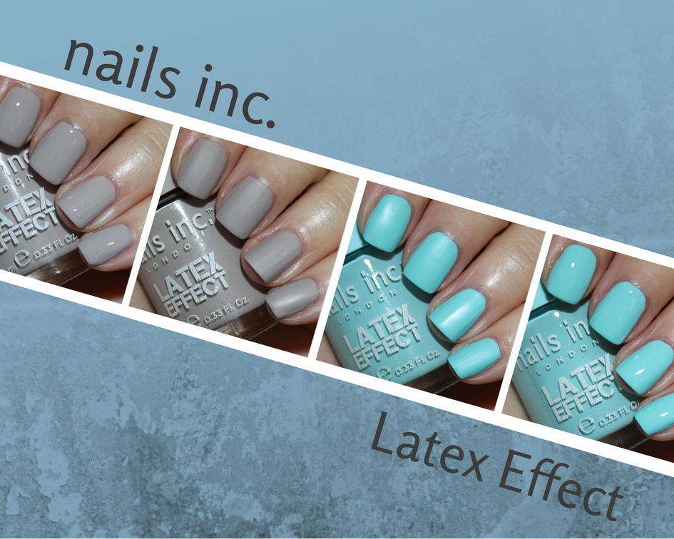 nails inc. Latex Effect