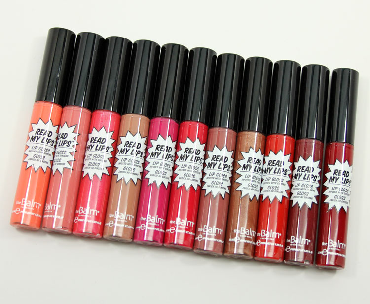 theBalm Read My Lips Lip Gloss