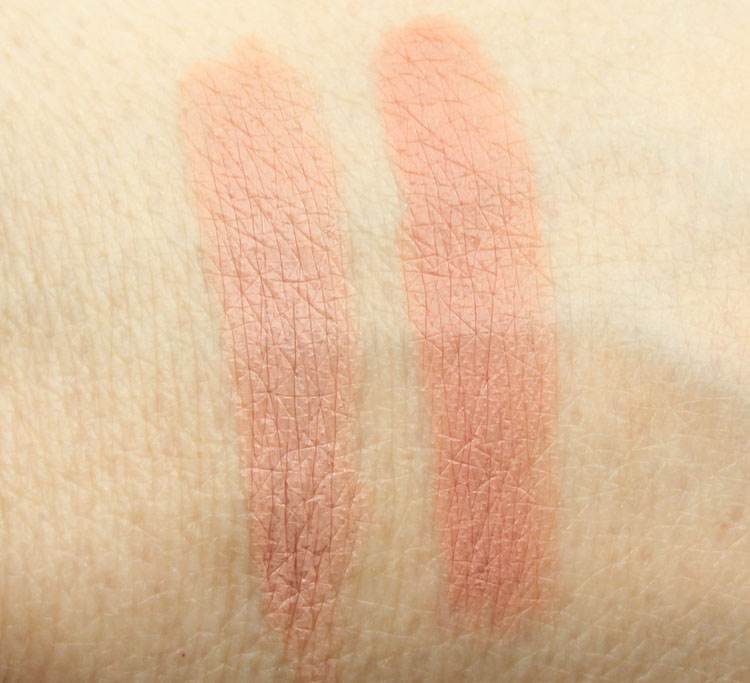 Buxom True Nude Lip Foundation in Buff and Nude Swatches