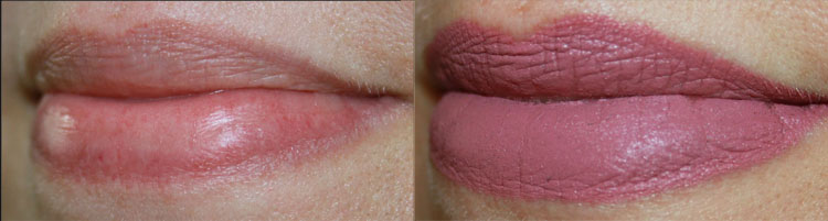LORAC Alter Ego Lipstick Goddess Lip Swatch