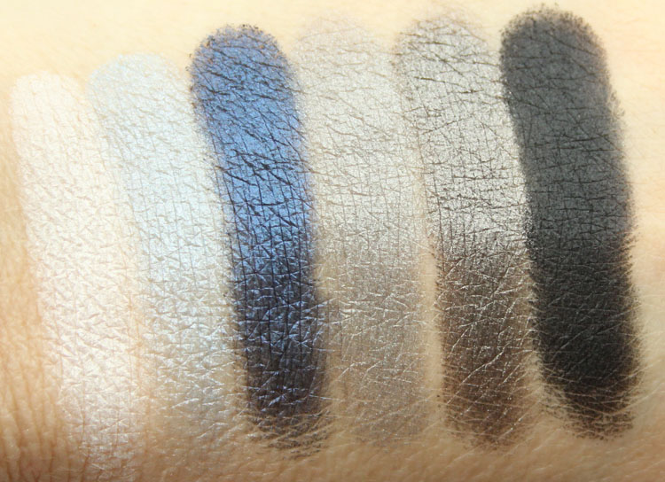 Milani Bella Eyes Gel Powder Eyeshadow Swatches-2