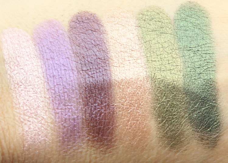 Milani Bella Eyes Gel Powder Eyeshadow Swatches-3