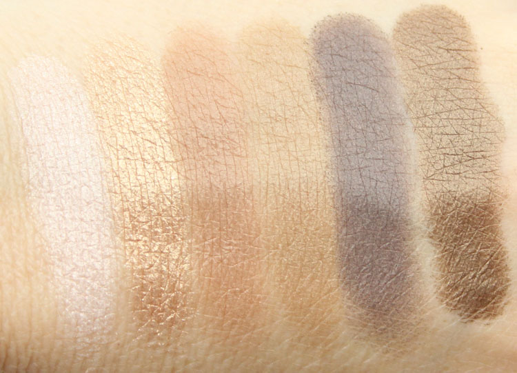 Milani Bella Eyes Gel Powder Eyeshadow Swatches