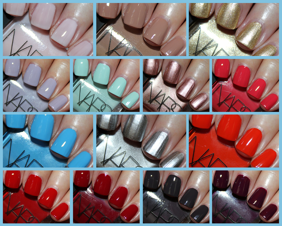 NARS Nail Polish - New Shades and Formula! | Vampy Varnish