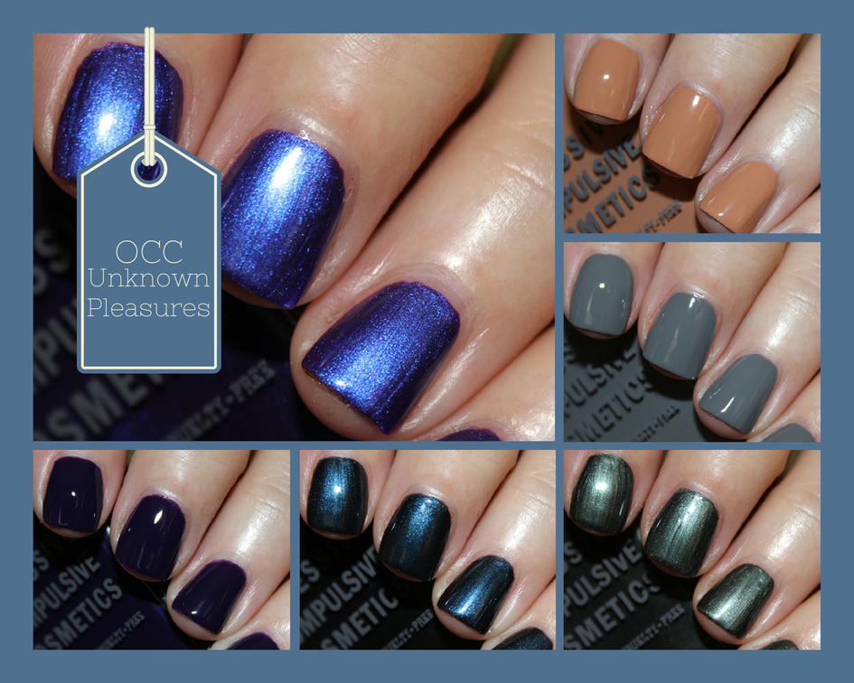 OCC Unknown Pleasures Nail Lacquers