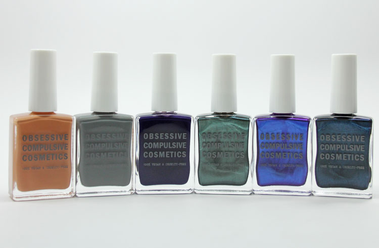 Obsessive Compulsive Cosmetics Unknown Pleasure Nail Lacquers