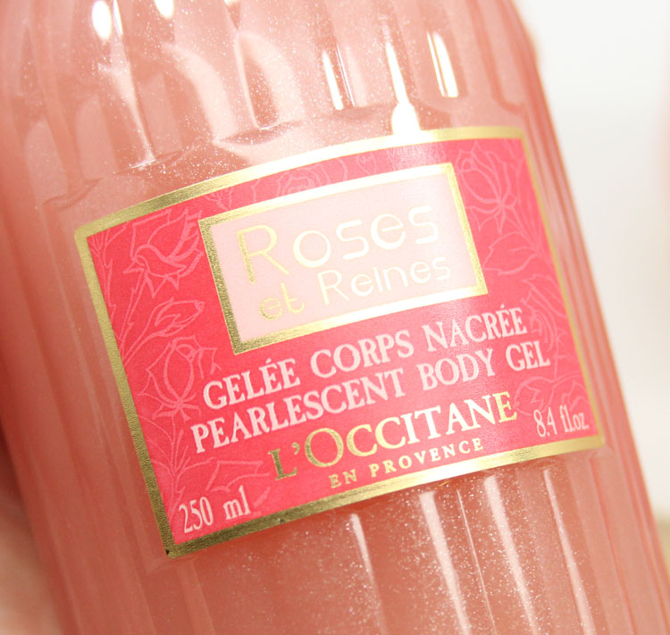 L'Occitane Roses et Reines Pearlescent Body Gel
