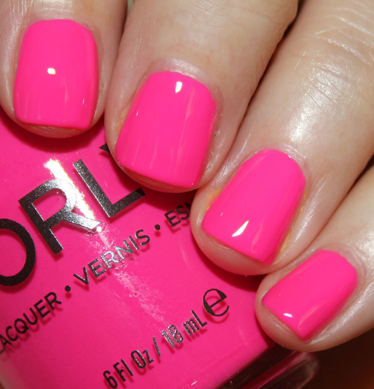 Bright Pink Nail Polish Colors: Orly Baked For Summer 2014 Swatches And Review