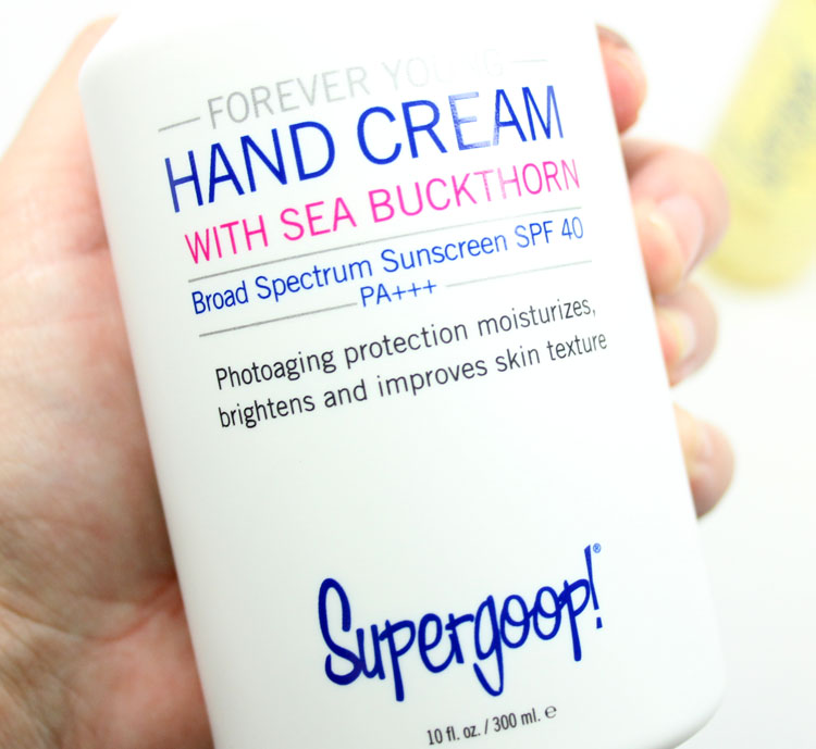 Supergoop Hand Cream