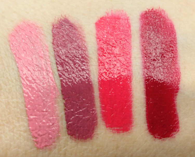 Too Faced Melted Liquified Long Wear Lipstick for Fall 2014 Swatches