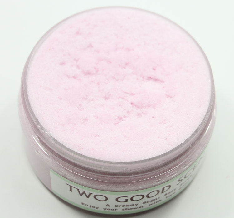 Two Good Scents Creamy Sugar Body Scrub Rice Flower and Shea