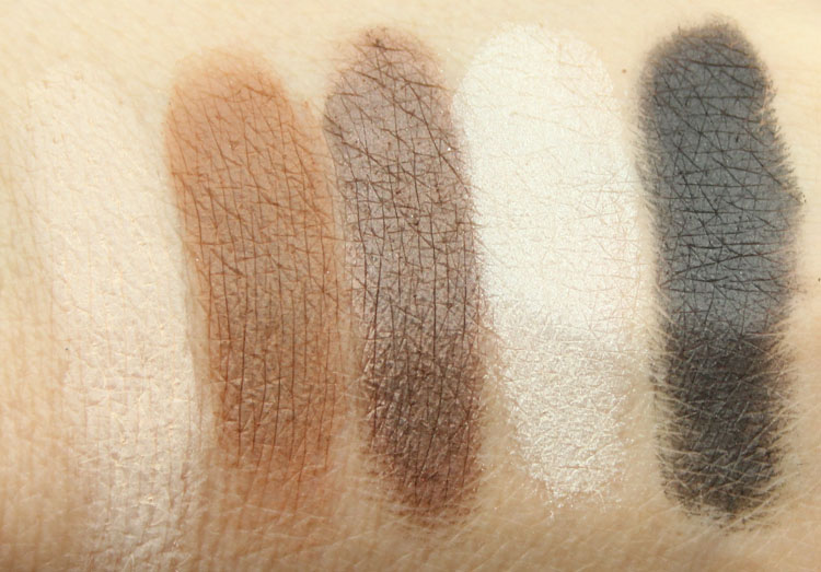 Urban Decay Pulp Fiction Palette Swatches