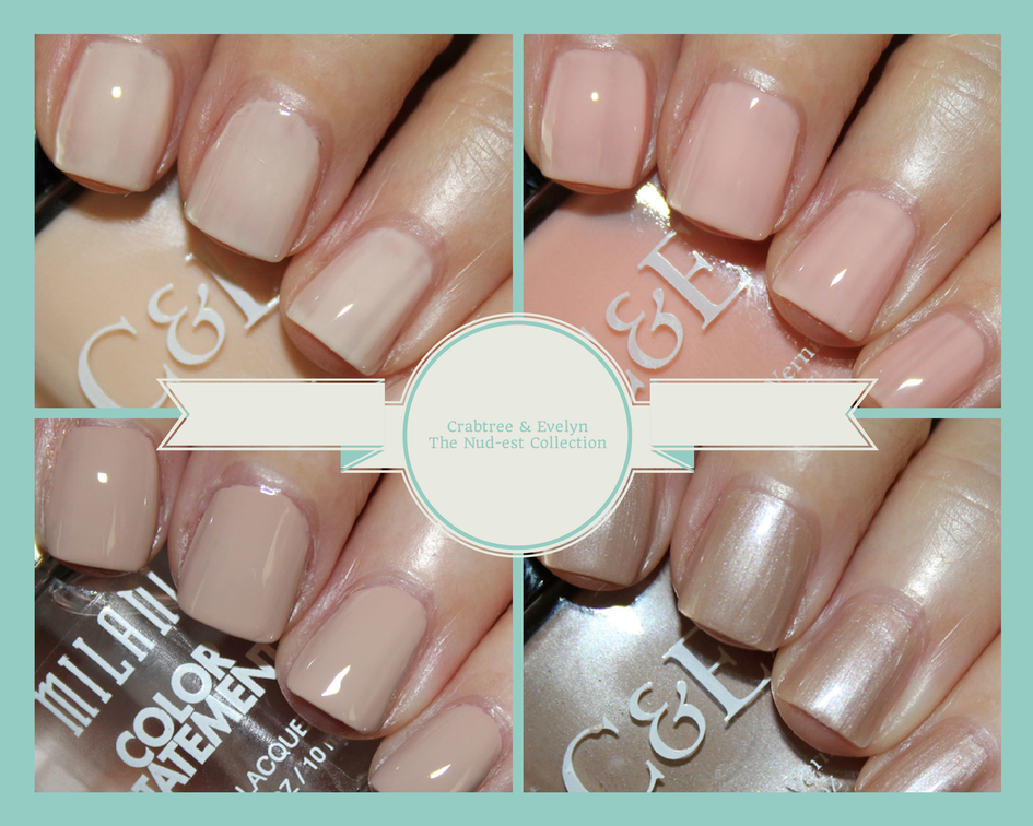 Crabtree & Evelyn The Nud-est Collection | Vampy Varnish