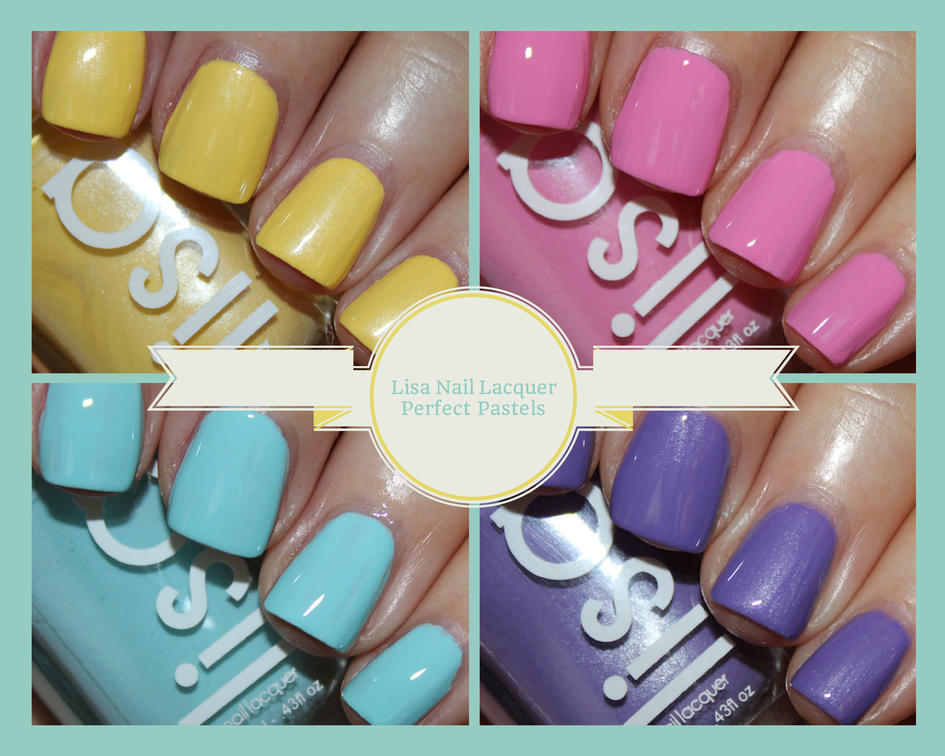 Lisa Nail Lacquer Perfect Pastels
