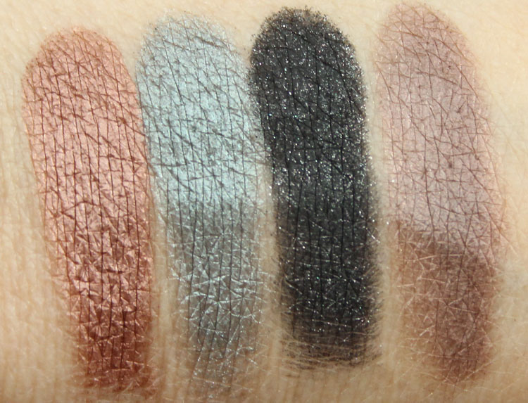 MAC An Amorous Adventure Quad Swatches