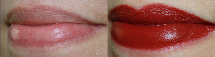 MAC Hearts Aflame Lip Swatch