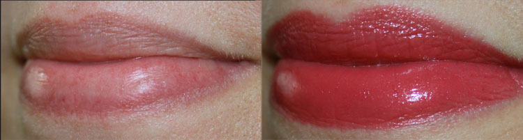 MAC Yield To Love Lip Swatch