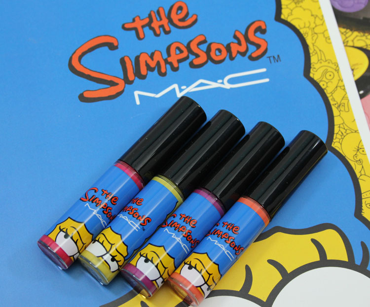 MAC x The Simpsons Collection Lipglass
