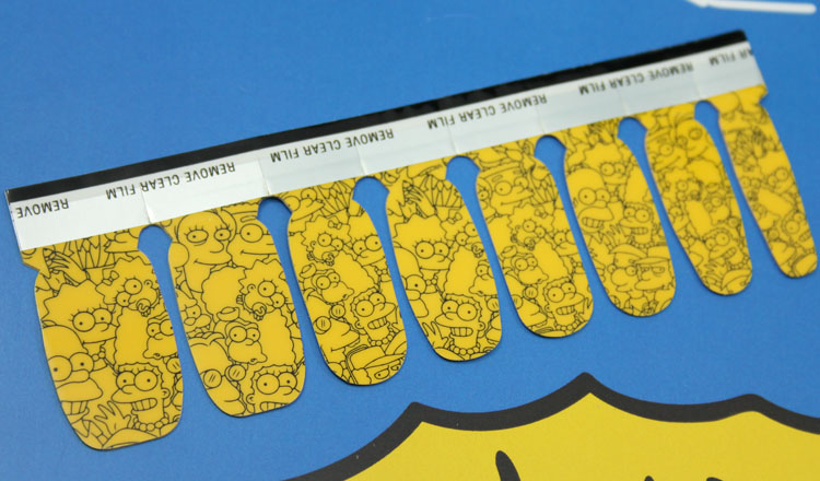 MAC x The Simpsons Collection Marge Simpson's Cutie-cles Nail Stickers