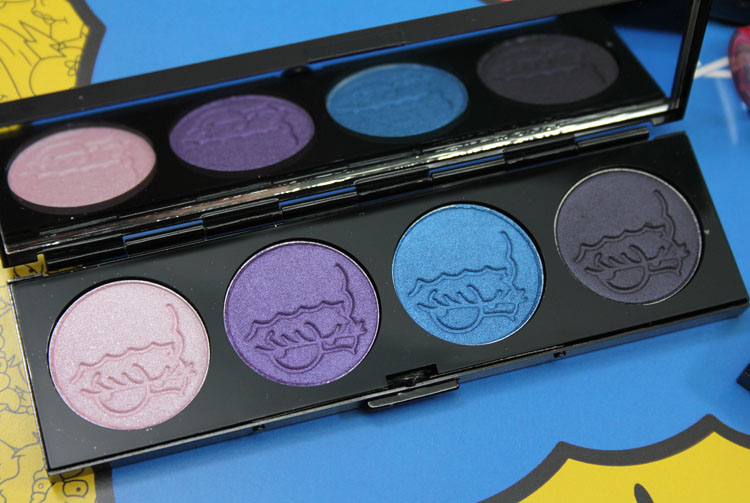 MAC x The Simpsons Collection Marge's Extra Ingredients Quad