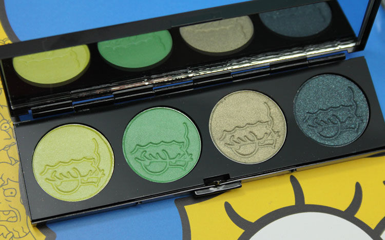 MAC x The Simpsons Collection That Trillion Dollar Look Quad